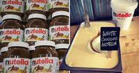 Wah! Begini Jadinya Kalau Es Krim Vanilla Bertemu dengan Nutella