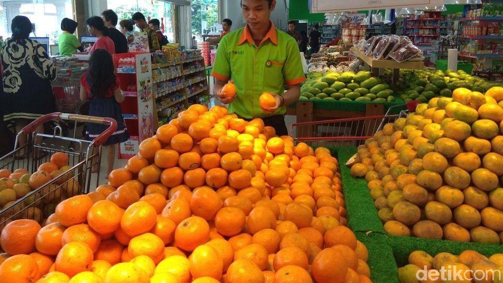 Jeruk Mandarin Menghilang, Kemendag: Pakai Jeruk Lokal Saja