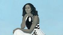 Lukisan Michelle Obama Dikritik Tidak Tersenyum
