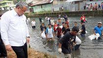 Mendes Eko Sandjojo Tinjau Program Padat Karya di Ambon