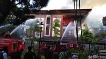 Kebakaran Gedung Pemprov Bali Diduga Akibat Korsleting