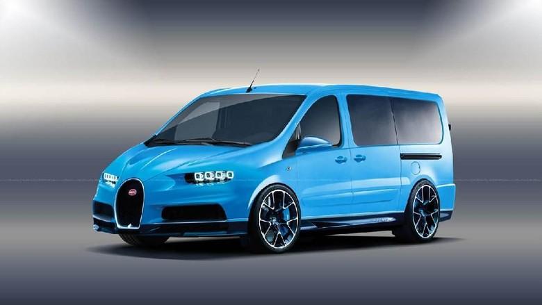 Saat Mobil Super Berubah Jadi Mini Van