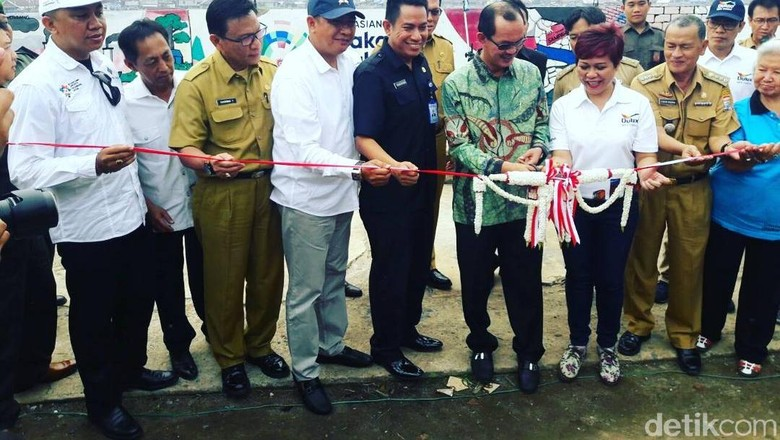 Peresmian Kampung Mural Goedang Boentjit (Raja Adil/detikTravel)