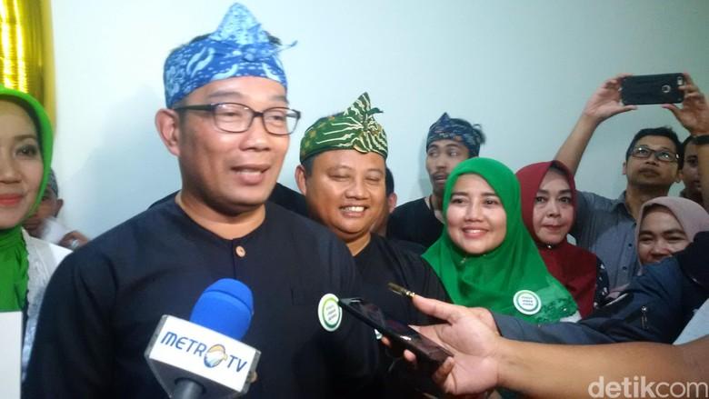 Dapat Nomor Urut 1, Ridwan Kamil-Uu: Ini Doa Pendukung