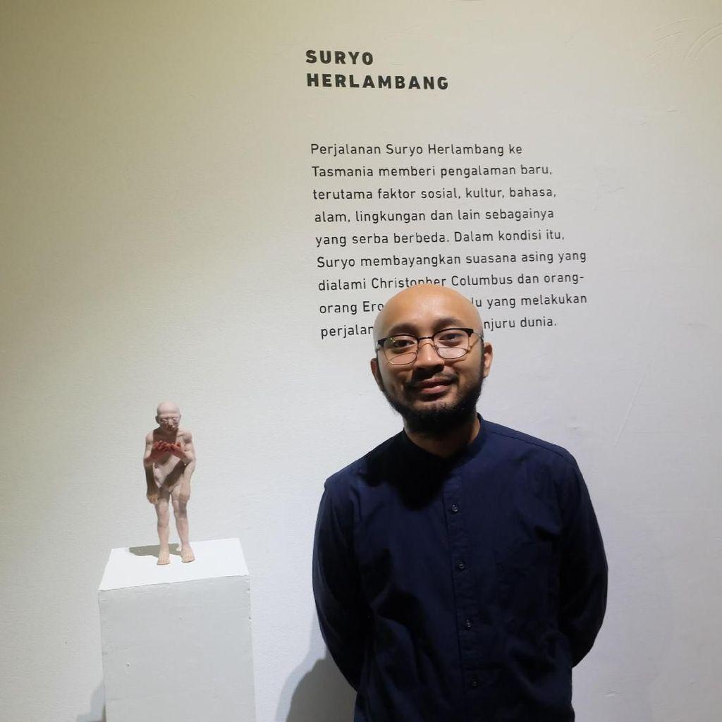 Suryo Herlambang, Pematung Muda Juara Kompetisi Trimatra Salihara