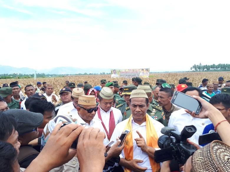 Mentan Lepas Ekspor 57.650 Ton Jagung Gorontalo ke Filipina
