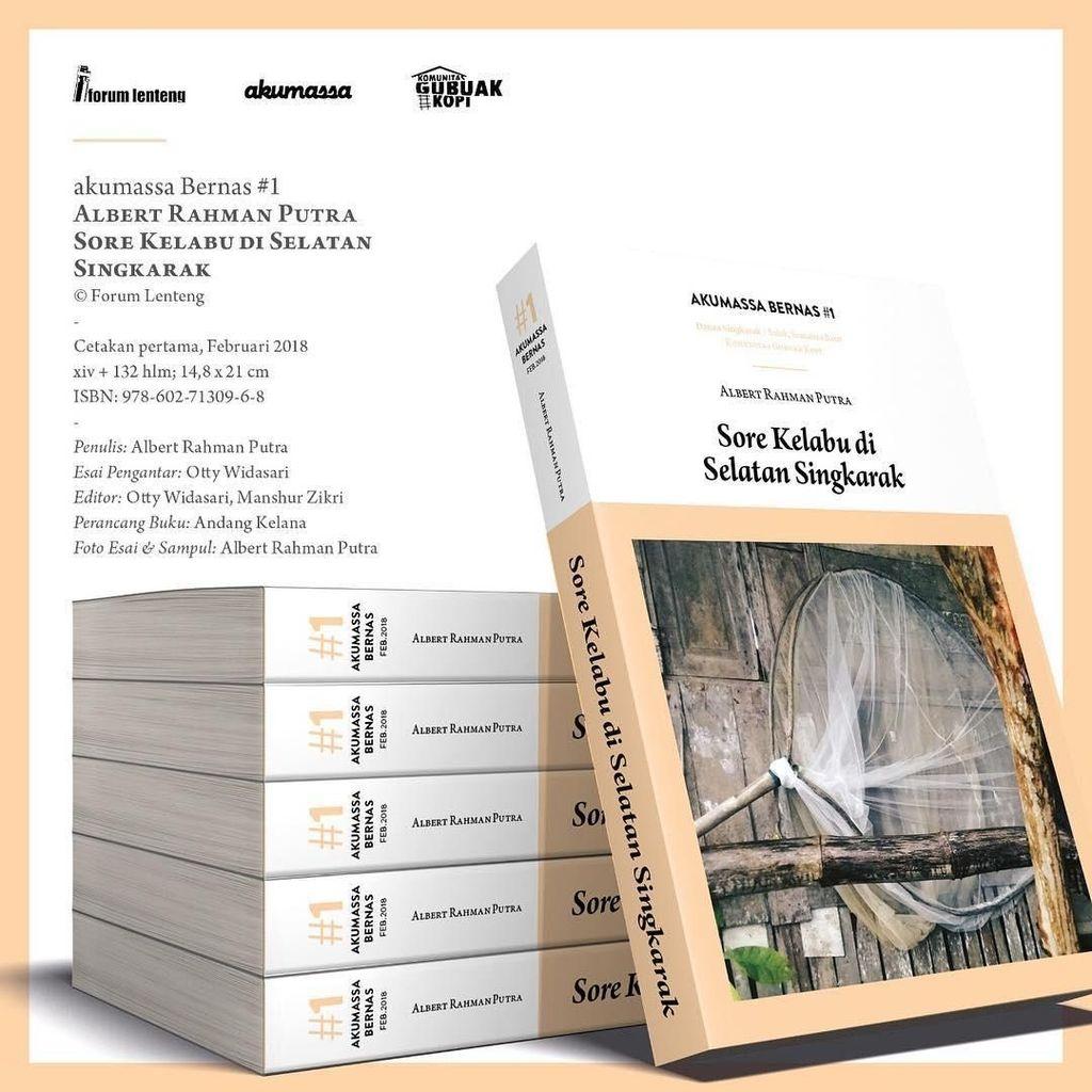 Forum Lenteng Jakarta Terbitkan Buku Sore Kelabu di Selatan Singkarak