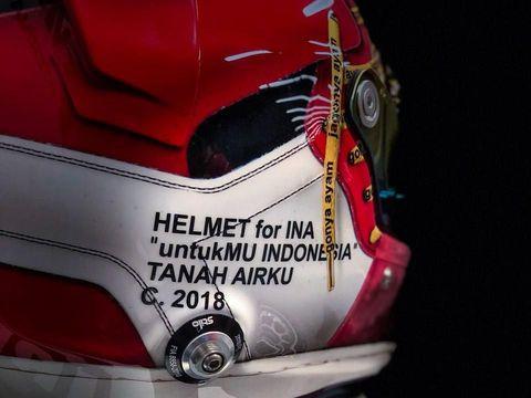 Helm Merah-Putih Sean di Musim 2018