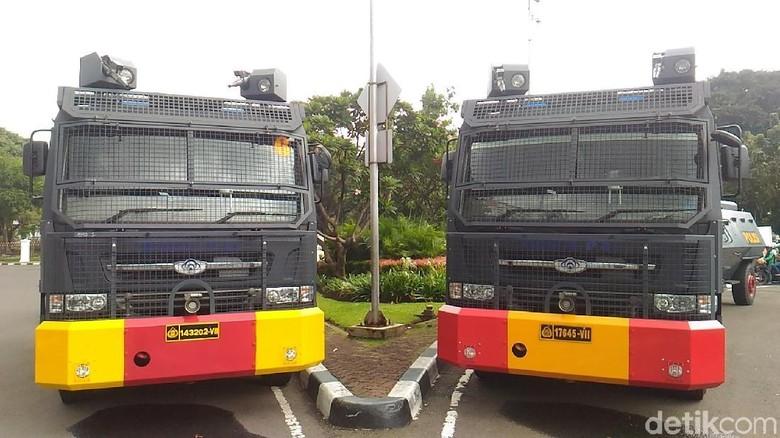 Aliando Bakal Demo Lagi, Polisi Siagakan Kendaraan Taktis