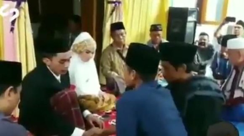 Kocak! Viral Video Wali Nikah Sebut Maskawin Dibayar Pajak