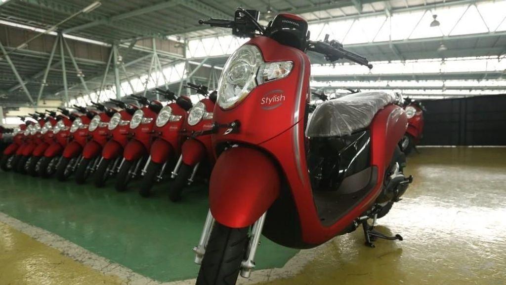 Honda Scoopy Tampil Lebih Segar