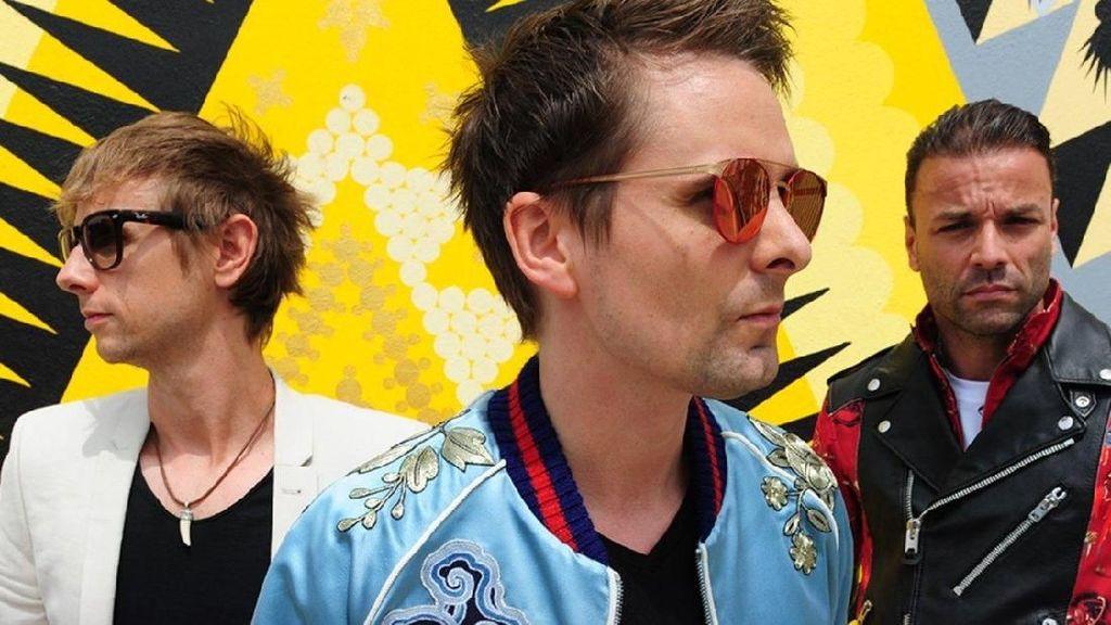 Muse Ungkap Inspirasi Lagu Baru Thought Contagion hingga Lana Del Rey