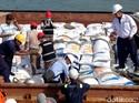 3.000 Ton Beras Asal Vietnam Tiba Lagi di Cilegon