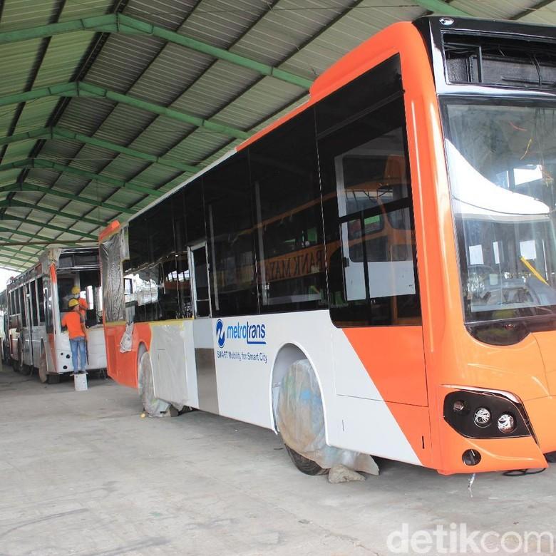 Selain Aluminium, Bus TransJakarta Pakai Baja, Ini Kelebihannya