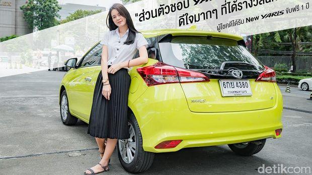 Yaris terbaru yang sudah meluncur di Thailand.
