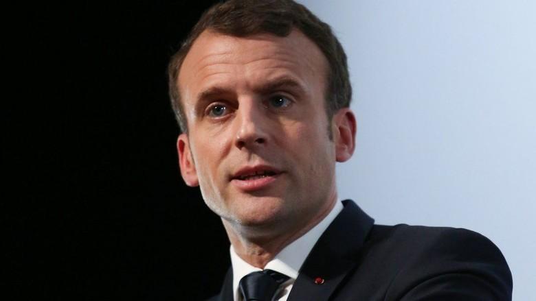 Prancis Ancam Serang Suriah Jika Terbukti Pakai Senjata Kimia