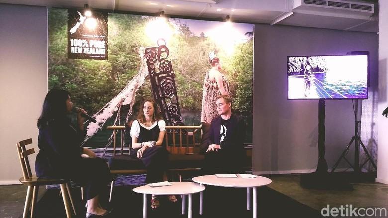 Suasana press conference Tourism New Zealand (Randy/detikTravel)