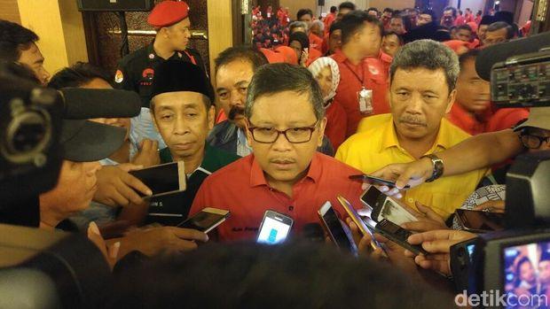 Megawati Pimpin Rakerdasus Pemenangan Ganjar-Yasin di Semarang