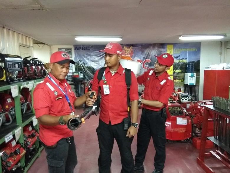 Jurus Fire Emergency Response Team Antisipasi Karhutla di Pelalawan