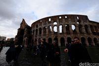 Mengintip 'Isi Perut' Colloseum Roma