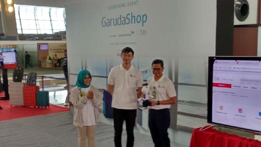 Garuda Gandeng JD.id Rambah Bisnis e-Commerce