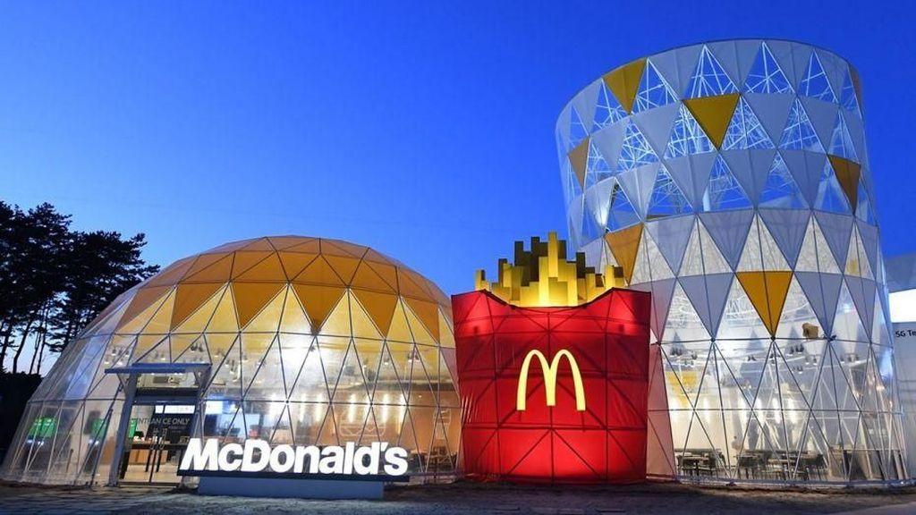 Wow! Di Gangneung Olympic Park Ada Gerai McDonalds Berbentuk Happy Meal