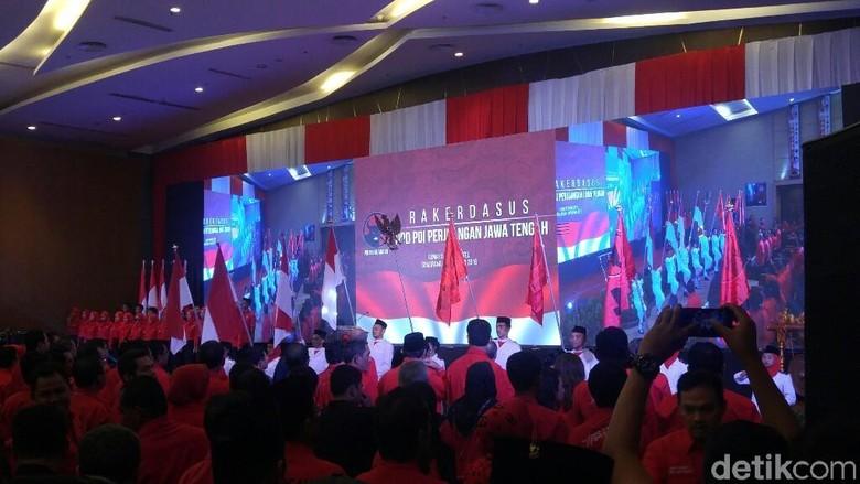 Megawati Pimpin Rakerdasus di Semarang Bahas Pemenangan Ganjar-Yasin