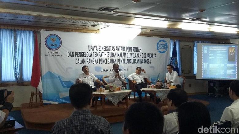 BNN DKI Kumpulkan Puluhan Pengelola Tempat Hiburan Malam