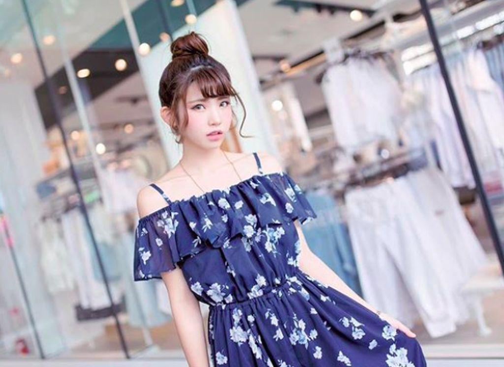 Nama panggungnya Enako yang populer di media sosial maupun dunia nyata, khususnya di Jepang. Foto: Instagram