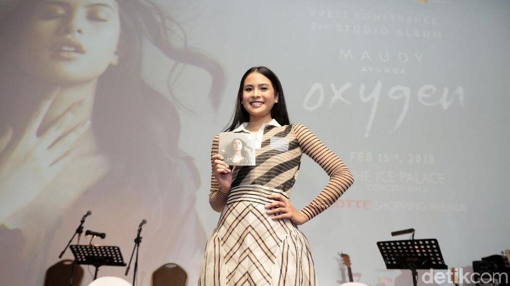 Napas Musikalitas Maudy Ayunda di Album Oxygen