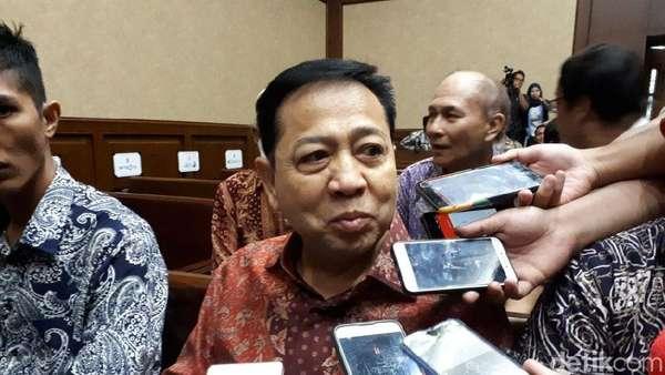 Marcus Mekeng dan Nazaruddin Jadi Saksi di Sidang Novanto