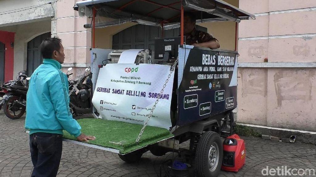 Bapenda Jabar Sulap Motor Sampah Jadi Samsat Keliling