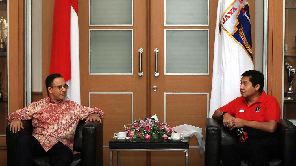 Gubernur Anies Imbau Suporter Jaga Aset Bangsa