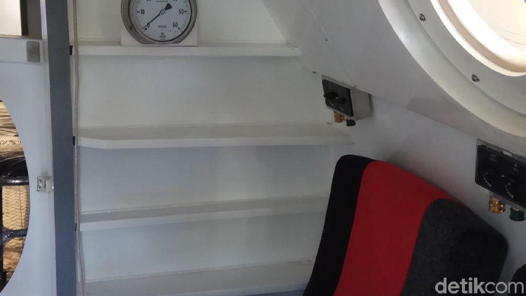 Chamber Terapi Oksigen Hiperbarik Kini Tersedia di Manado