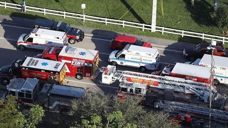 Penembakan di Sekolah Florida Tewaskan 17 Orang, Ini Kata Trump