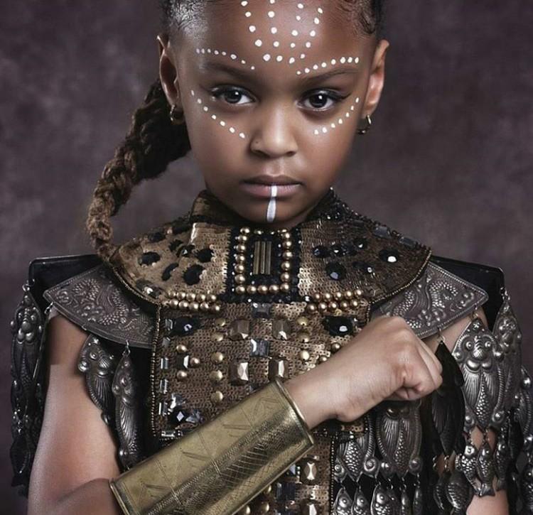 Sudah seperti tokoh Shuri, di film Black Panther belum? Shuri adalah saudara perempuan dari tokoh utamanya, Black Panther. (Foto: Instagram @mzkaybebe)