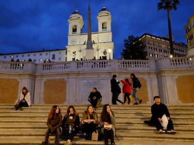 Foto: 135 Anak Tangga Paling Terkenal di Italia