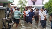 Hari Pertama Kampanye, Sudirman Said Pulang Kampung Tinjau Banjir