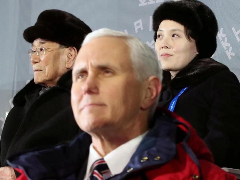 Wapres AS Akui Sengaja Abaikan Adik Kim Jong-Un Saat di Korsel