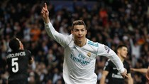 Ronaldo Dua Gol, Madrid Kalahkan PSG 3-1
