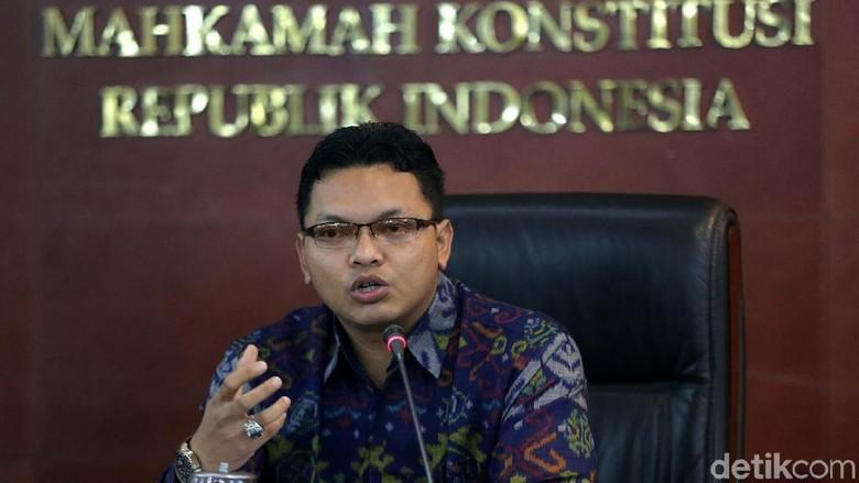 ICW Ogah Gugat UU MD3 karena Arief, Jubir MK: Masih Ada 8 Hakim