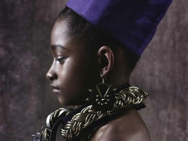 Yang ini namanya Ramonda, sang Ratu Wakanda. (Foto: Instagram @mzkaybebe)