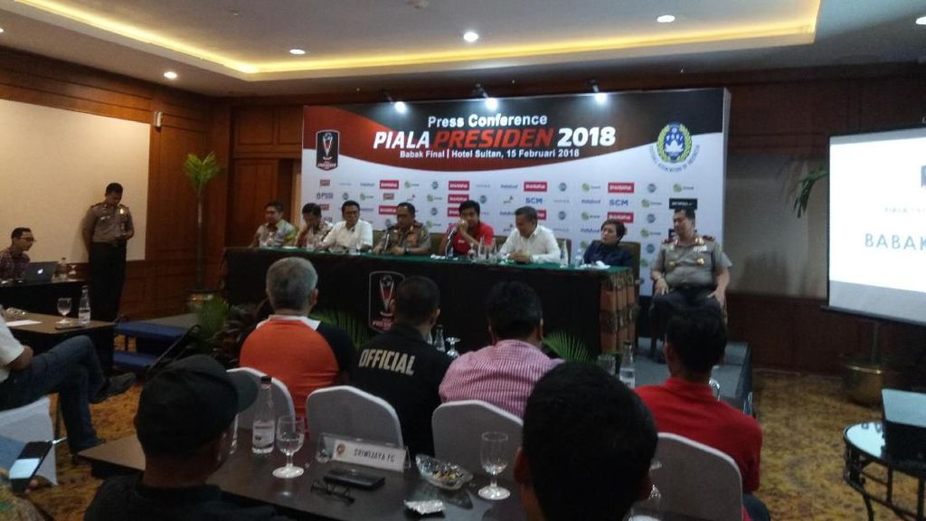 Final Piala Presiden, Kapolri Kerahkan 5.200 Aparat Keamanan
