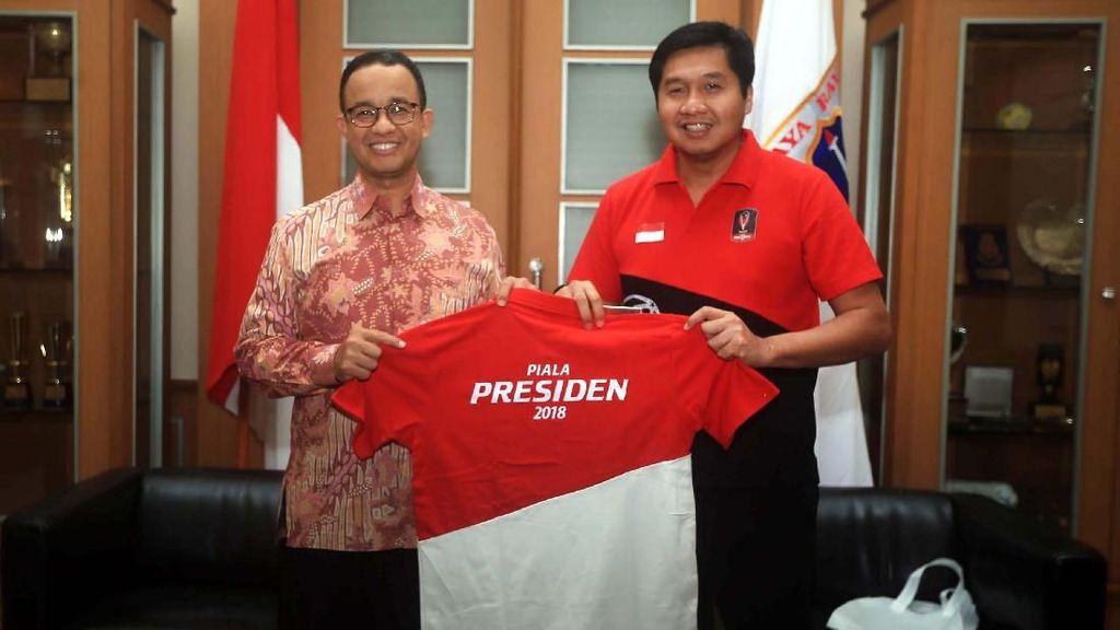 Anies Dicegah Dampingi Jokowi, Maruarar: 100 Persen Salah Saya