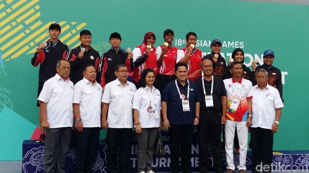 Trio Srikandi Compound Buka Lumbung Emas Panahan Indonesia