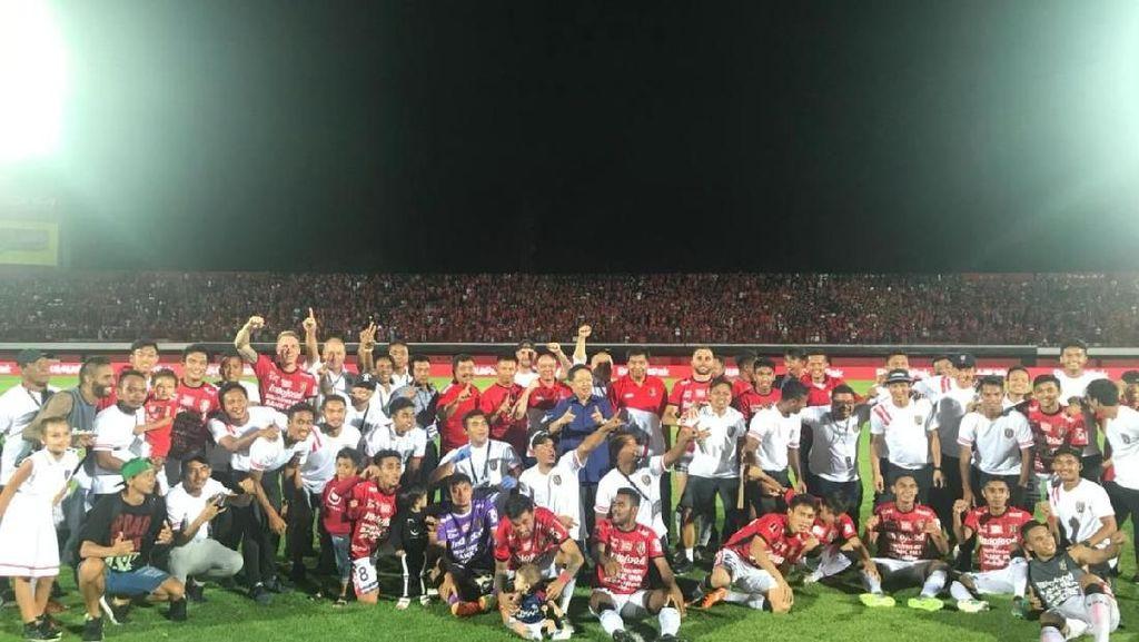 Persija Jumpa Bali United, Semoga Final Lebih Seru dan Meriah