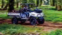 Lincahnya Mobil 'Ndeso' Melintas di Kebun Sawit
