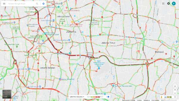 Jelang Long Weekend dan Pascahujan, Jakarta Macet di Mana-mana