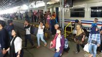 Libur Imlek, Penumpang KA di Stasiun Tugu Yogya Meningkat 15%