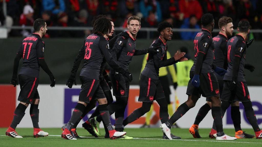 Arsenal Menang dengan Nyaman